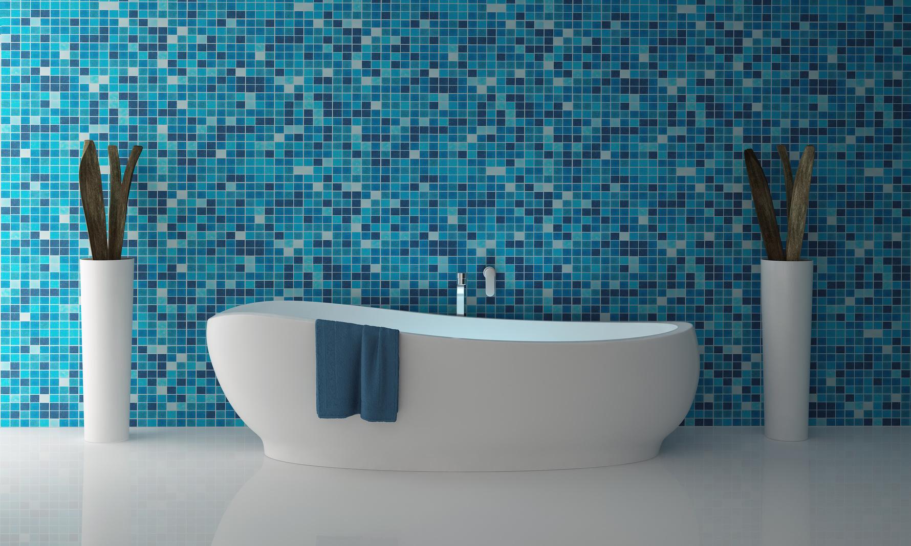 Синий флора винтерьере