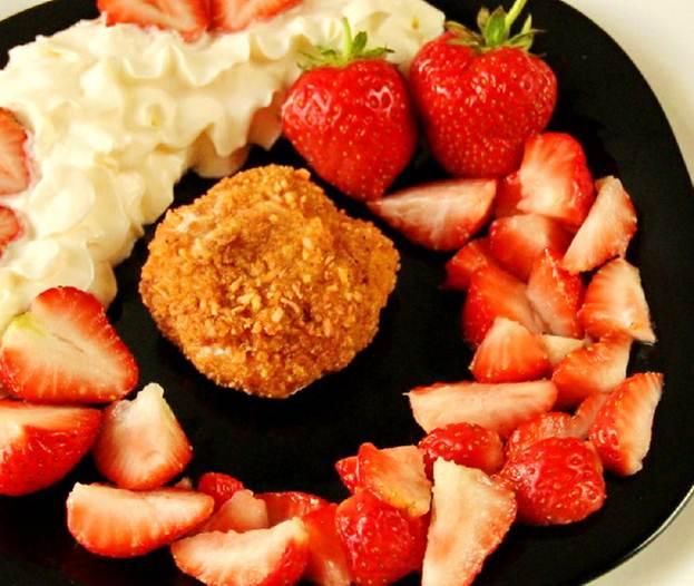 Фото-рецепт: жареное мороженое. Прекрасный раннелетний десерт