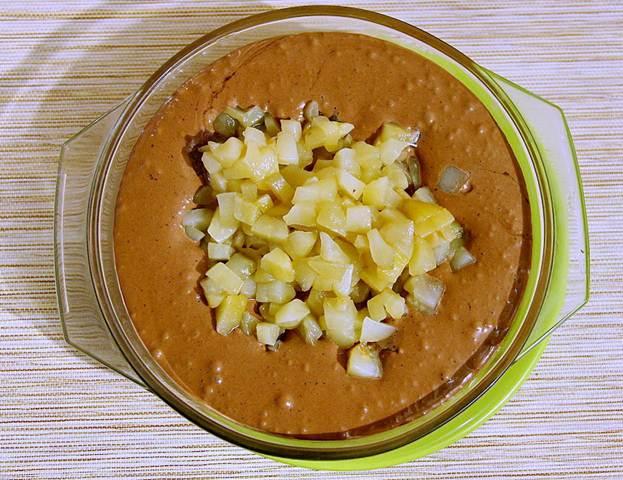 Рецепт шоколадного мусса сгрушей вконьяке