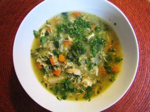 Фото-рецепт приготовления овощных супов изеленого борща
