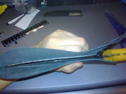 Изготовление кожаных ножен
