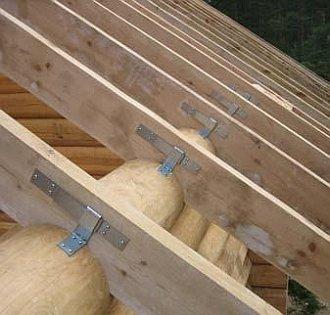Скользящая палладиум для стропил: особенности конструкции