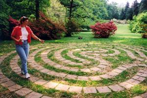 Идеи чтобы сада своими руками: лабиринт