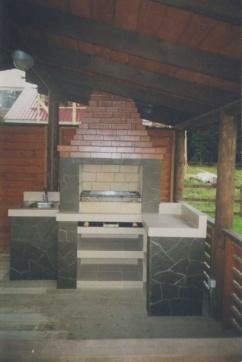 Фото мангалов для  дачи: стационарные иразборные, металлические икаменные, электрогриль ибарбекю