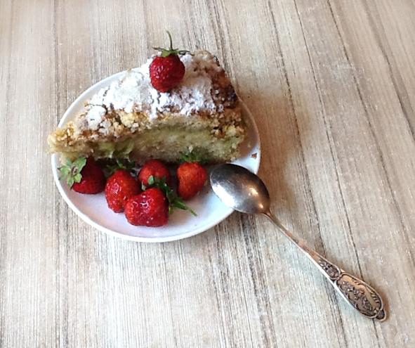 Летний пирог  сревенем