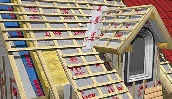 Надежная гидроизоляция  крыши по-под металлочерепицу
