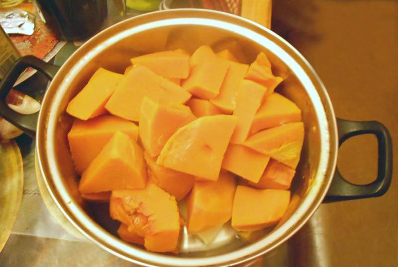 Фото-рецепт приготовления кушанье супа изтыквы