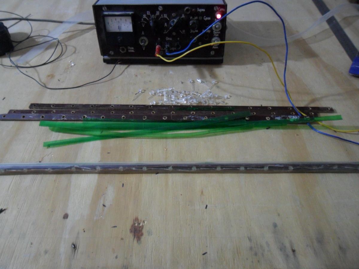 Что сделать из светодиодной ленты своими руками