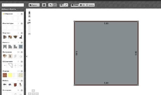 Обзор программ-планировщиков интерьеров