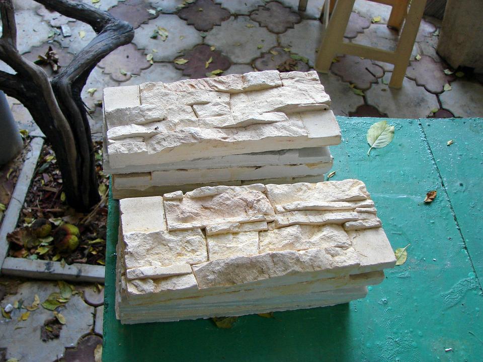 Форма для искусственного камень своими руками
