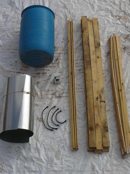Изготовление улья изстарой бочки