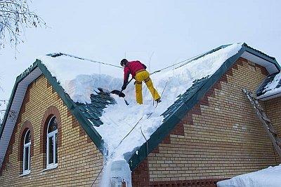 Снеговая нагрузка  на кровлю: жирорасчет и нормативное значение по  СНиП