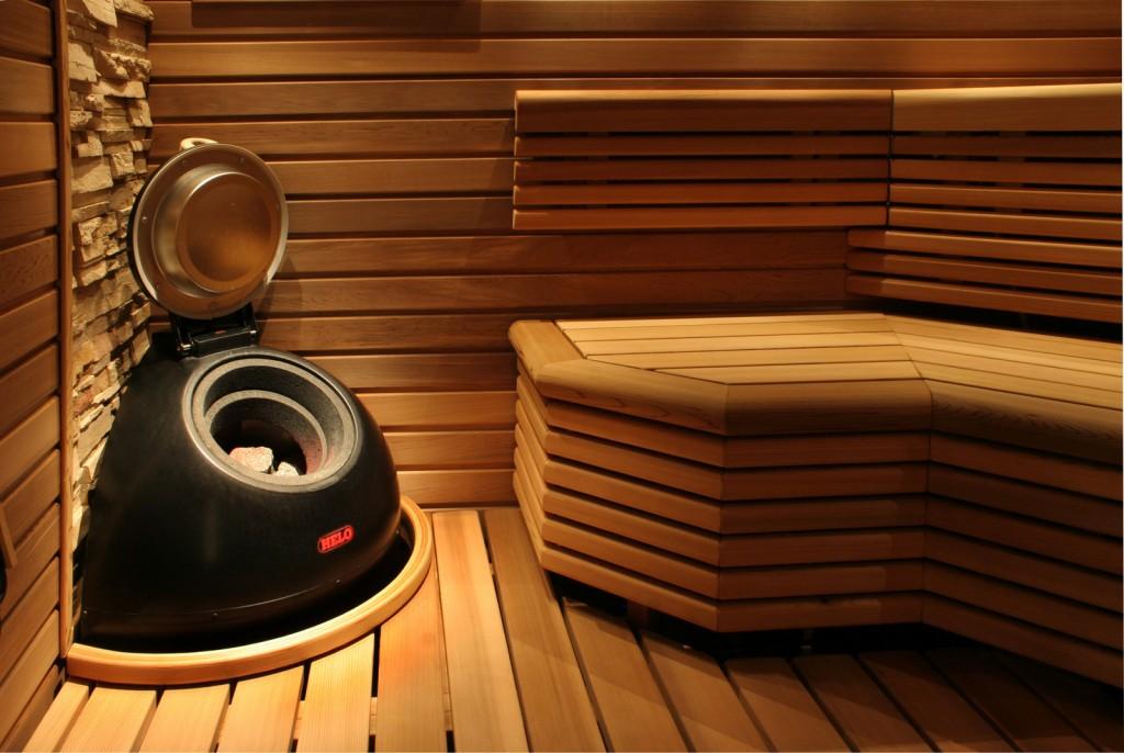 Внутренняя штафирка бани — стены, пол, лавки и печь
