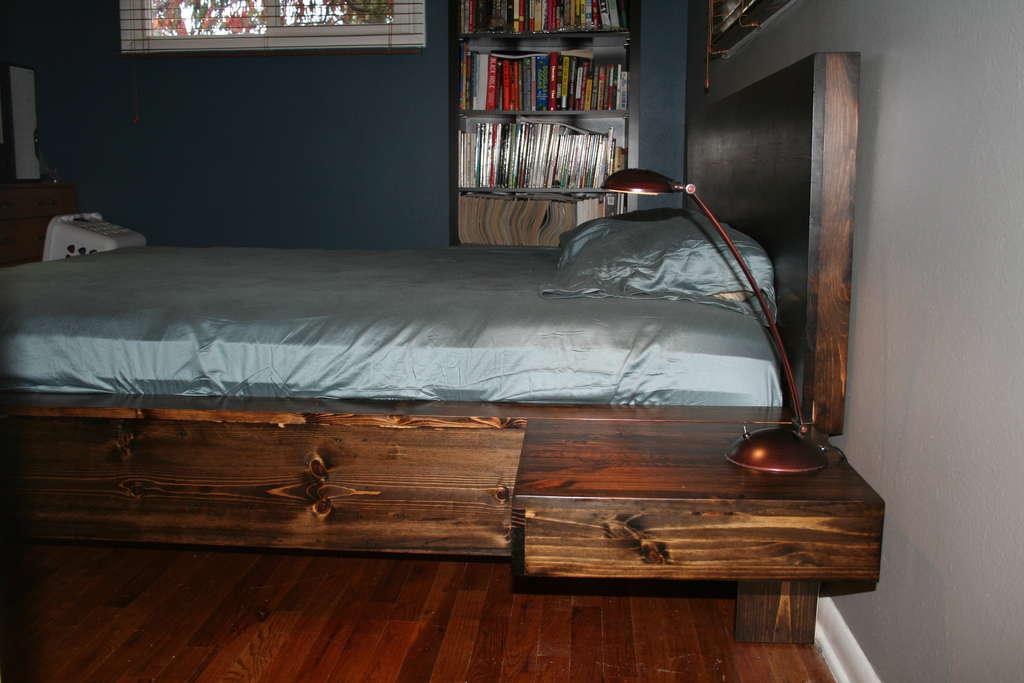 Изготовление кровати своими руками