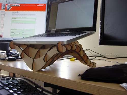Подставка про ноутбука своими руками