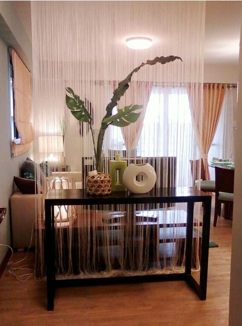 Нитевые шторы: свежее  уступка ради интерьера