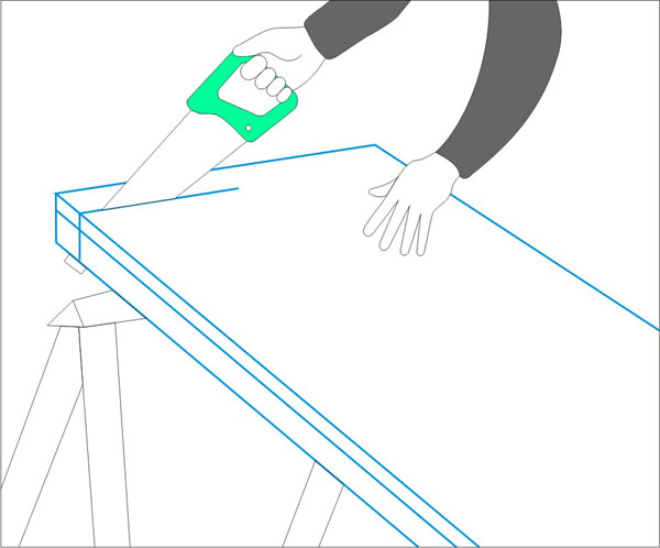 Обшивка единица гипсокартоном