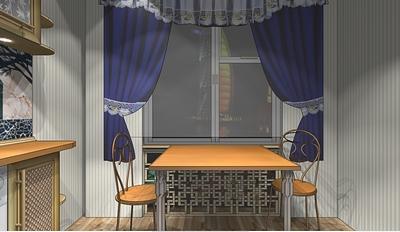 Кухня в9метров: создаем уют. Дизайн-проект