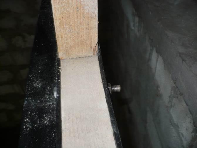 Как усилить деревянную балку перекрытия своими руками