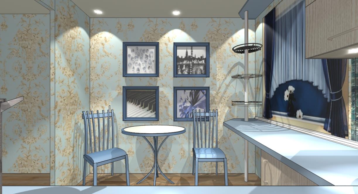 Дизайн маленькой кухни 6кв.м.