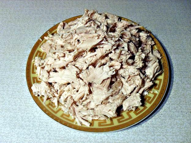 Пошаговый фото-рецепт приготовления блинного торта скурицей, грибами исыром