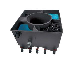 Системы фильтрации воды вдекоративных прудах