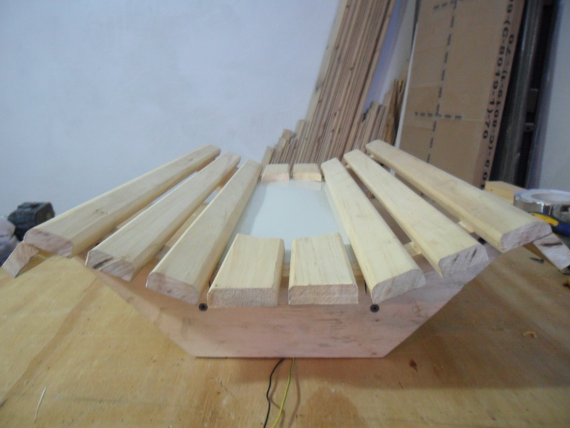 Изготовление деревянных светильников своими руками для бани