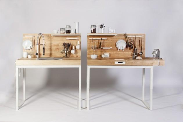 10оригинальных мини-кухонь