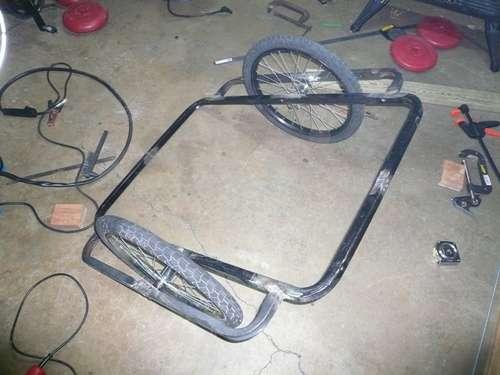Прицеп для того чтобы велосипеда своими руками