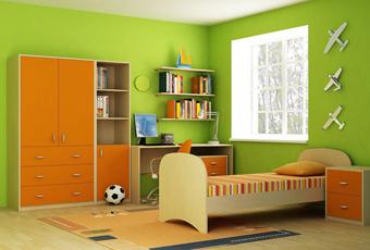 Как законно выбрать цвет ради детской комнаты