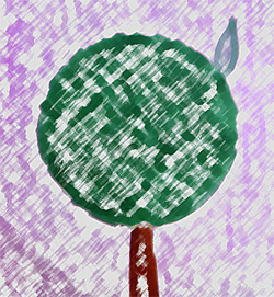 Как сделать трафарет ради стрижки жизнедеятельный изгороди